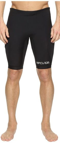 Rip Curl D/Patrol 1mm Neo Shorts (Black) Men's Swimwear - Rip Curl, D/Patrol 1mm Neo Shorts, WSH5EM-001, Apparel Bottom Swimwear, Swimwear, Bottom, Apparel, Clothes Clothing, Gift - Outfit Ideas And Street Style 2017