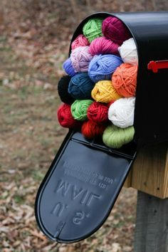 now thats what i would love to find in my post box tomorrow , woolly wishes Posted