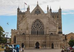 Exeter Cathedral (1280-1300 CE) England