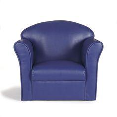 Fauteuil club enfant bleu Bleu nuit - Clubby - Les chaises et fauteuils enfant - Les meubles pour chambre enfant - Univers des enfants - Décoration d'intérieur - Alinéa