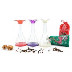 Virágos sószóró Measuring Spoons, Hurricane Glass, Tableware, Dinnerware, Tablewares, Dishes, Place Settings