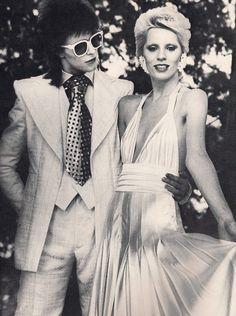 C R A Z Y  L O V E: David + Angie Bowie