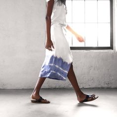 Give a plain skirt an on-trend shibori update with RitDye!