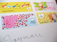 Finland always has incredibly designed stamps