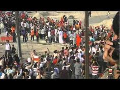 #Bahrain: new video of the massive #protest of yesterday