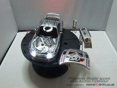 XMOD XMODS Toyota Supra Formula Drift Custom Body set with sharpie pen