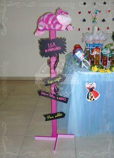 Candy Bar. Alicia en el país de las Maravillas