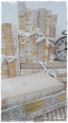 Antique Lace Trim Book Bundle Vintage Early by LoveEmbellished