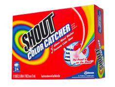 FREE Sample of Shout Color Catcher