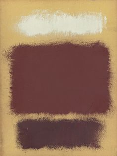Mark Rothko - Untitled, 1962, oil on paper mounted to panel