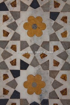 India Tile Pattern - Color
