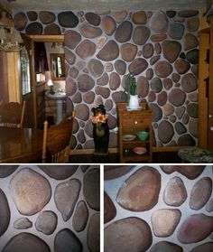 Faux Painted Stone Wall Google Search