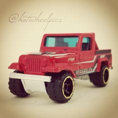 #138 - Jeep Scrambler - 2014 Hot Wheels - HW Off-Road - Hot Trucks