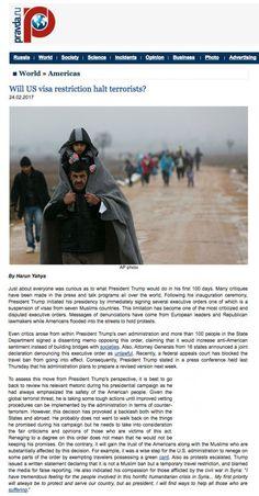 pravda adnan_oktar_will_US_visa_restriction_halt_terrorists