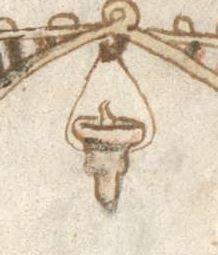 Armenbibel in 41 Darstellungen ungefähr zwischen 1360 und 1375 Cgm 20 Folio 3r