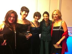 Jen is hanging out with Sandra Fluke and Senator Snowe today in New York! #MissRep