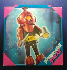 Playmobil special playmo deep sea Diver 4658 western SEALED 2006