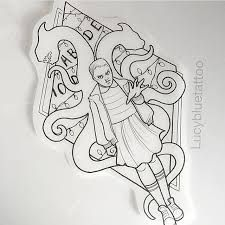 Resultado de imagen para stranger things tattoo