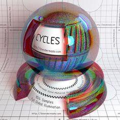 Cycles Material Data Base