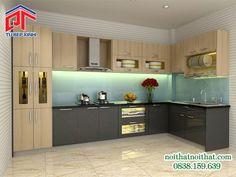 Giải Pháp Mới Cho Phòng Bếp Lựa Chọn Vật Liệu Tủ Bếp Hợp Lí PTL03