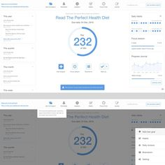 Freelance Jobs Clean, minimalist design for goal website by Zoush