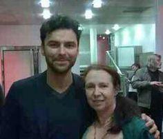 Aidan & me at BFI POLDARK pre-view in London.