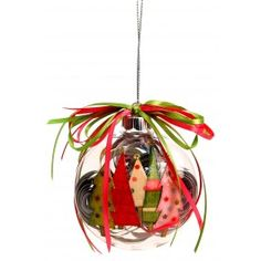 Nicole™+Crafts+Paper-Filled+Disc+Ornament