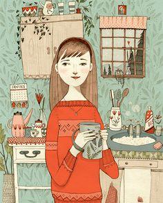 In The Kitchen - Abigail Halpin