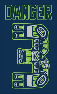 3818ff27f6e Peace For Profit Native Northest Art Seahawks contemporary iconography