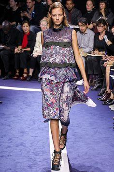 Sacai Spring 2015 RTW Collection at Paris Fashion Week #pfw