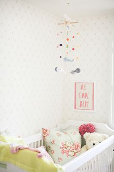 An Adorable Nursery from Lane Dittoe.  Read more - http://www.stylemepretty.com/living/2013/07/15/an-adorable-nursery-from-lane-dittoe/