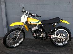 1973-  Suzuki TM125, modified for racing