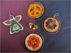 Felt Ornaments by brenda1967