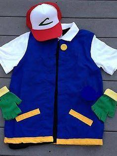 pokemon ash costume - Google Search