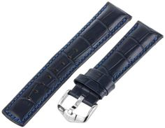 Hirsch 025280-80-22 22 -mm  Genuine Calfskin Watch Strap * Find out more about the great product at the image link.