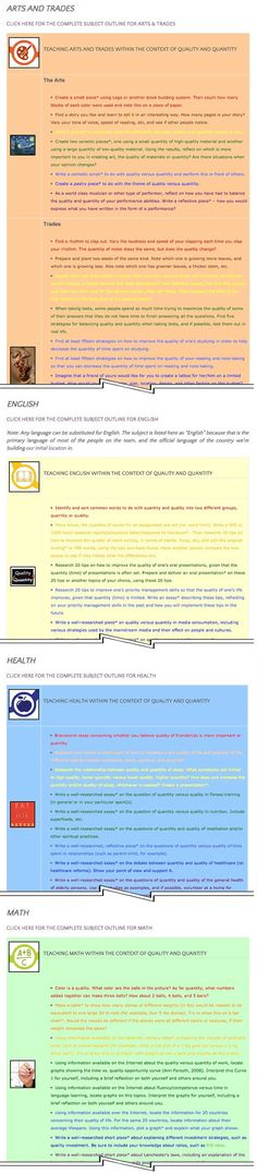 Quantity and Quality Lesson Plan - 50% Complete – Click to Visit Page, http://www.onecommunityglobal.org/quality-and-quantity-lesson-plan/