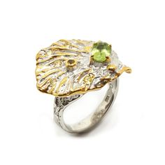 Ring mit Peridot Peridot, Engagement Rings, Jewellery, Sapphire, Gold Paint, Beads, Silver, Ring, Enagement Rings