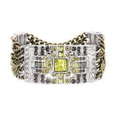 Art Deco Stretch Bracelet
