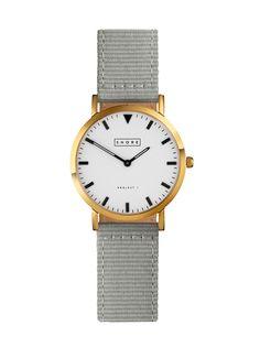 Portland Watch With Grey Classic Strap
