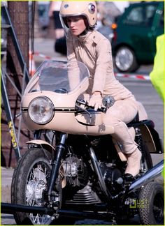 Ducati SS and Keira Knightley for Chanel