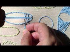 Puncte de dantelărie - Nervuri frunze - YouTube