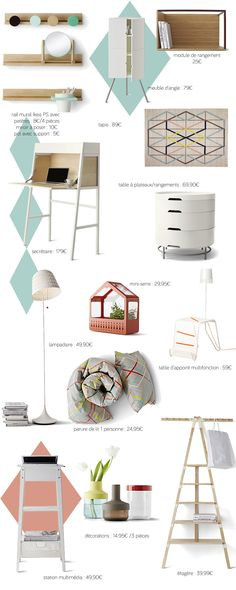 Favourite designs from the new IKEA PS 2014 models Ikea Ps 2014, Tiny Furniture, Brown Furniture, Shopping Ikea, Inspiration Ikea, Attic Bedroom Small, Nordic Home, Home And Deco, Ideas