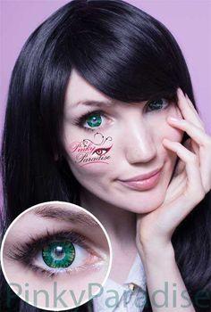 Vassen Lollipop Green Circle Lenses | Pinky paradise- $23.90