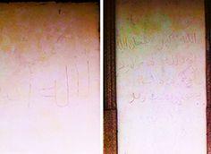 Scritte inneggianti all'onnipotenza di Allah nella stazione di Vogogna. Indaga la polizia - Ossola 24 notizie