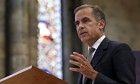 Interest rate rise set for new year, warns Bank of England governor.