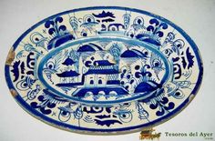 Bandeja de ceramica Portuguesa