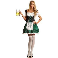 Foxy Fraulein Adult Halloween Costume