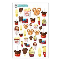 Disney Parks Snacks & Treats Stickers Disney by PrettySheepy