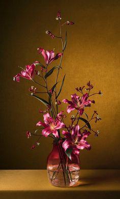 Beautiful Flowers Garden, Beautiful Flower Arrangements, Exotic Flowers, Beautiful Roses, Artificial Flower Arrangements, Artificial Flowers, Floral Arrangements, Clay Flowers, Flower Vases