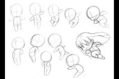 How to Draw Cute Chibis, Step by Step, Chibis, Draw Chibi